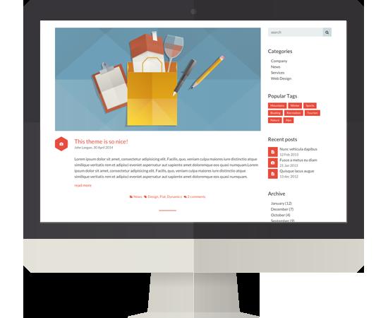 Normal Blog  >> Blog Angle Html